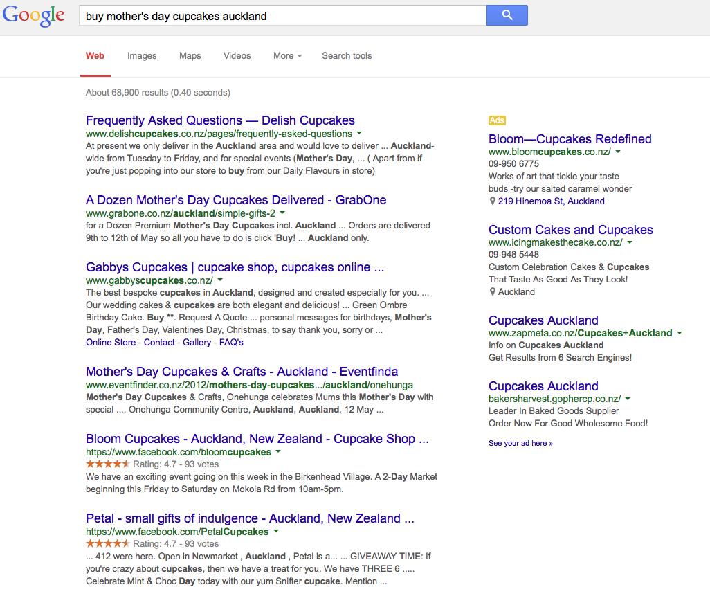 Google Search Keywords SEO