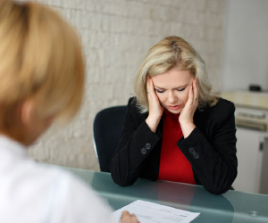 If you sense your employee is stressed, it's important to communicate with them.